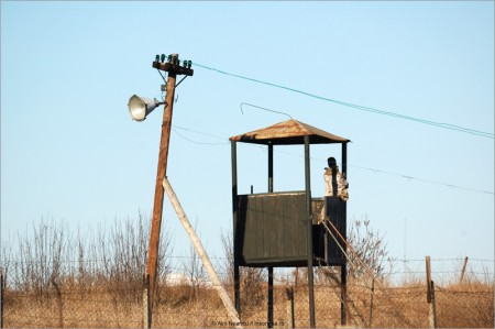 Justitia in Romania, un loc parasit in care paznicul a fugit...