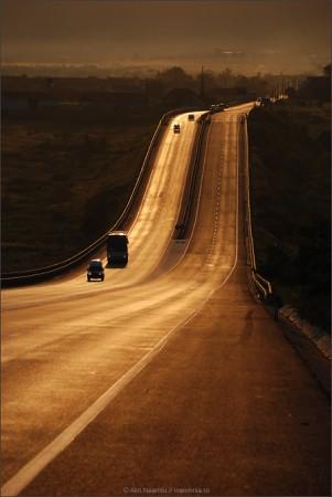 road, romania