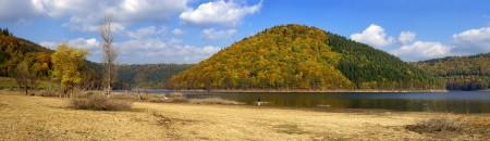 Lacul Zetea. Octombrie 2010