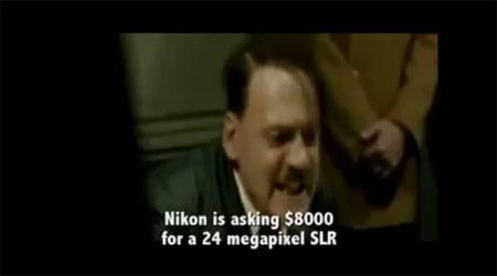 Hitler despre noul Nikon D3X