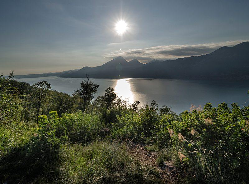 Evening On Lake Garda