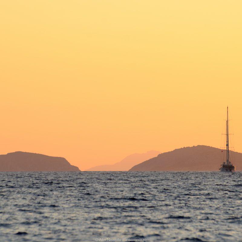 Sailing to Symi Island